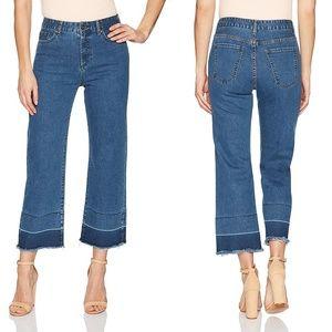 Evidnt La Rochelle High Rise Micro Flare Jeans